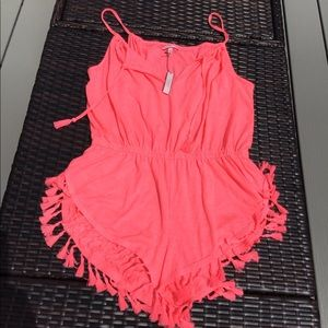 NWT Victoria's Secret Coverup Romper